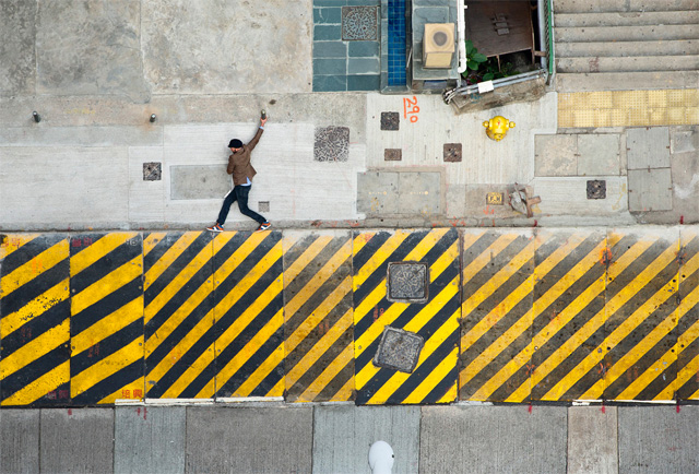 Photographer Christian Åslund Turns the Streets of Hong Kong into a 2D Video Game