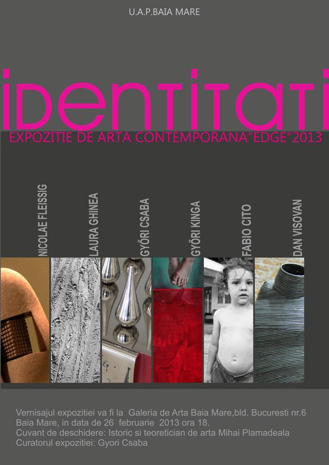 """""""Identități, Edge 2013"""" @ Galeria de Arta UAP, Baia Mare"""