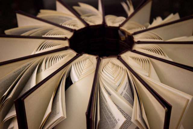 Between, Braided Books by Math Monahan
