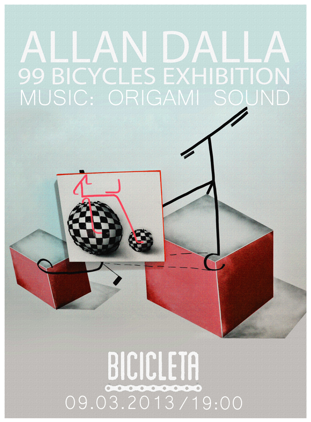 99 BICYCLES EXHIBITION @ barul Bicicleta pe Lipscani