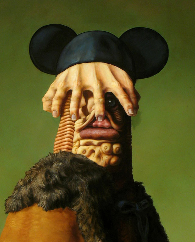 Grotesque Renaissance-Style Paintings by Christian Rex van Minnen