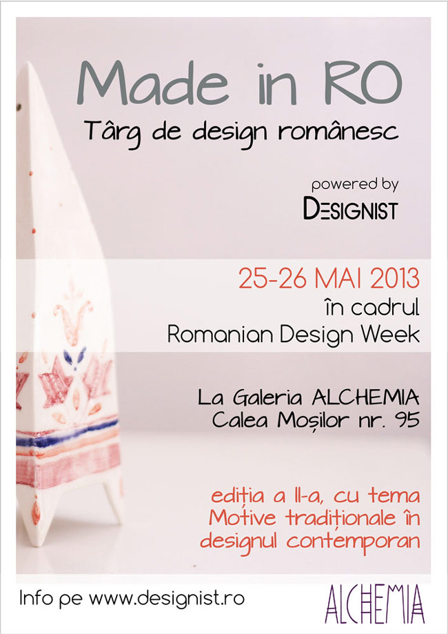 O nouă ediție Made in RO – Târg de design românesc