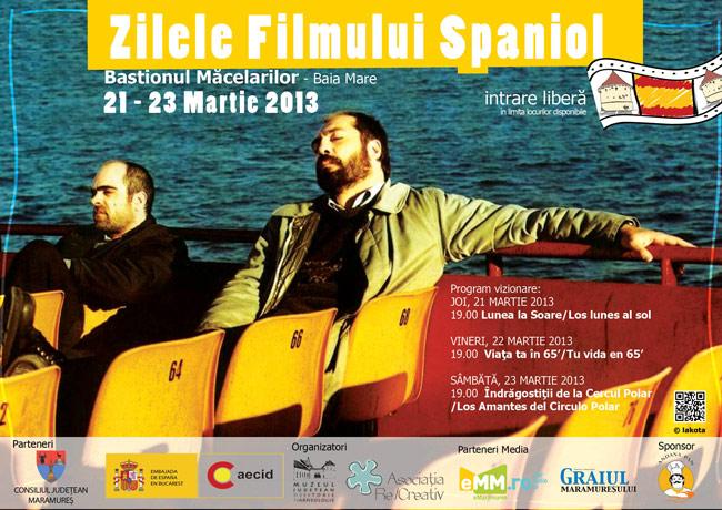 Zilele Filmului Spaniol @ Bastionul Măcelarilor, Baia Mare