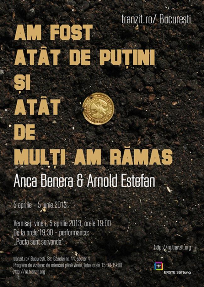 """Anca Benera & Arnold Estefan """"Am fost atât de puțini şi atât de mulți am rămas"""" @ tranzit.ro/ Bucureşti"""