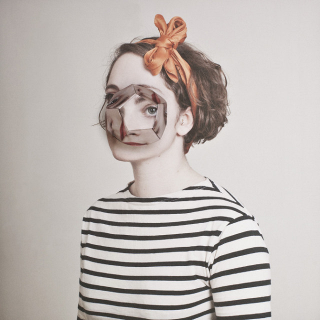 Cosmic Surgery, Photos of People with Origami Faces