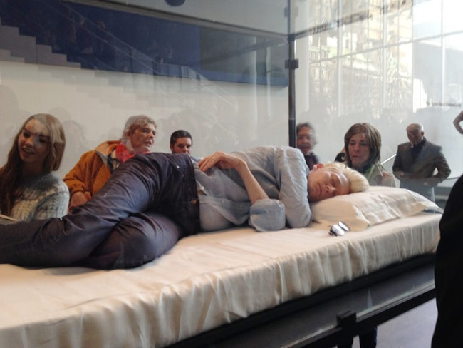 Art of Sleeping in a Box At MoMA Surprises Museum-Goers