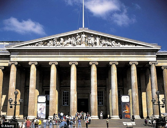 5.6 million visitors in 2012 for British Museum, the most visited institution in the UK