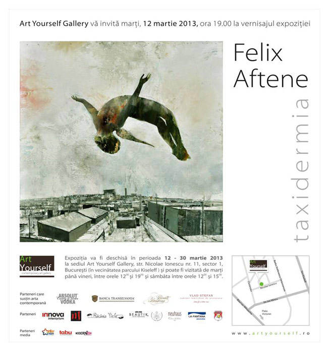 "Felix Aftene, ""Taxidermia"" @ Art Yourself Gallery, București"
