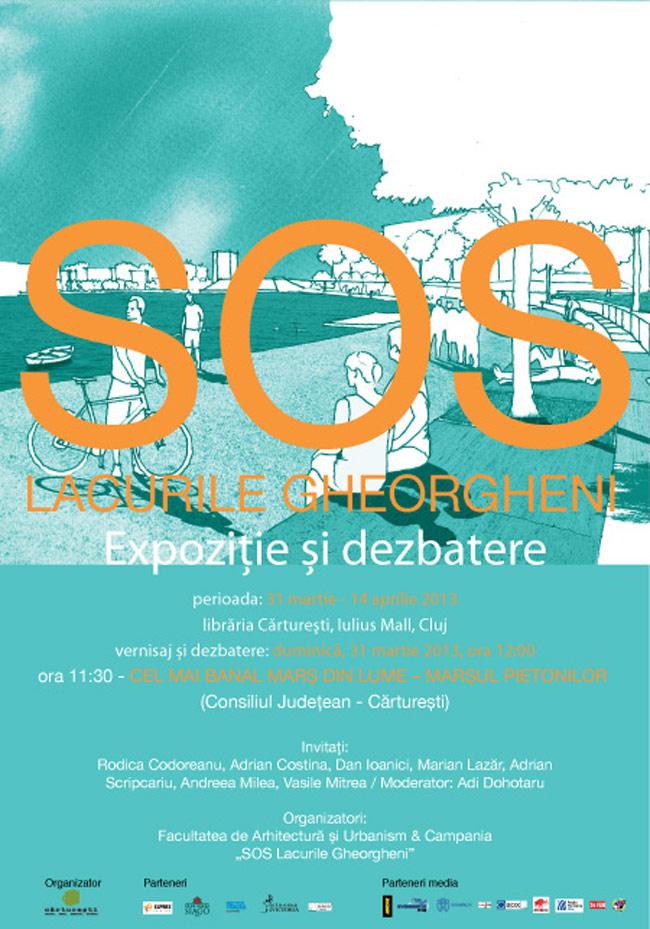 SOS LACURILE GHEORGHENI – vernisaj de expoziție și dezbatere @ Librăria Cărturești Cluj