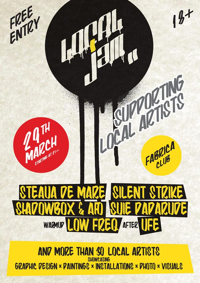 LOCAL JAM organizează primul eveniment cu peste 50 de artiști locali
