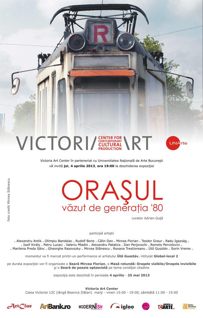 Oraşul văzut de generaţia '80 @ Galeria Victoria Art Center, București