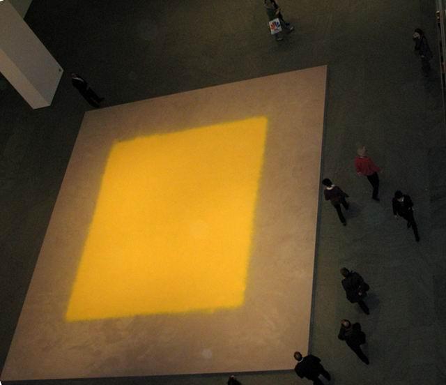 Pollen from Hazelnut @ MOMA