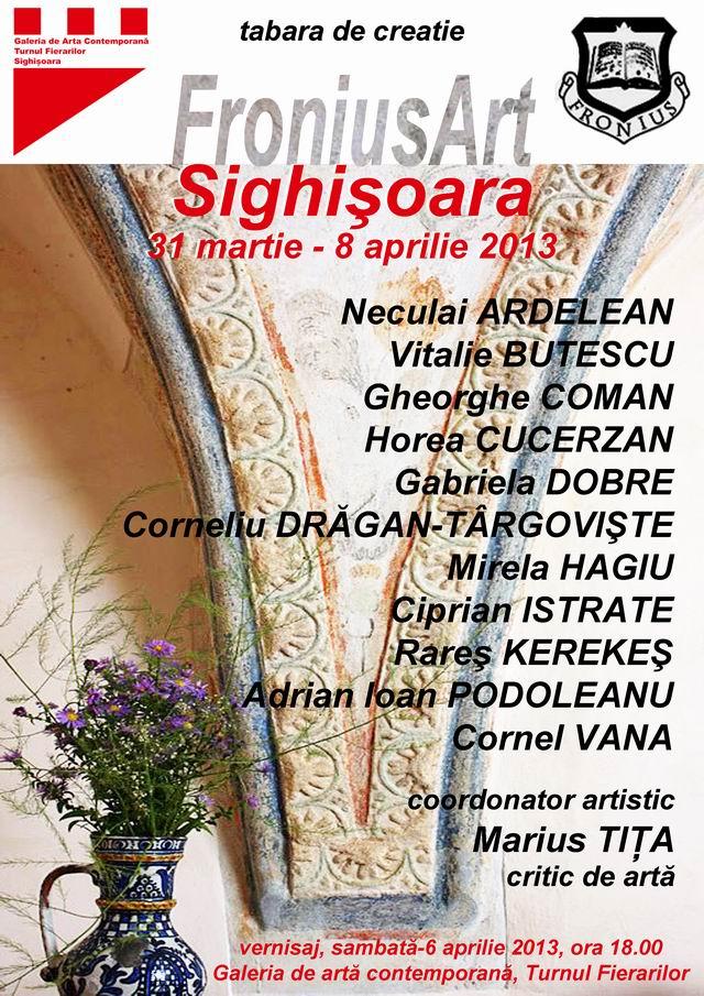 Tabera de creaţie FroniusArt 2013 @ Sighişoara
