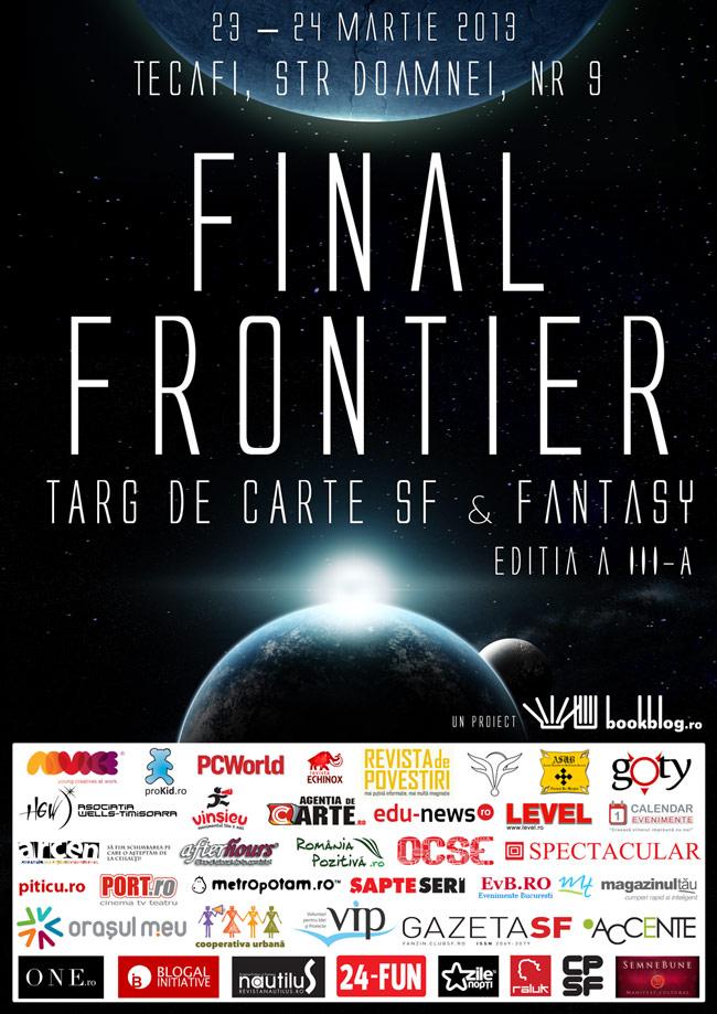 Târgul SF & Fantasy Final Frontier 2013
