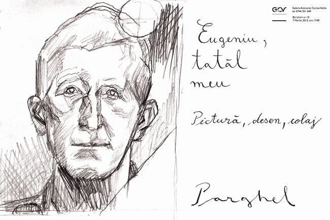 """Virgiliu Parghel """"Eugeniu, tatăl meu"""" @ Galeria Anticariat Curtea Veche, București"""