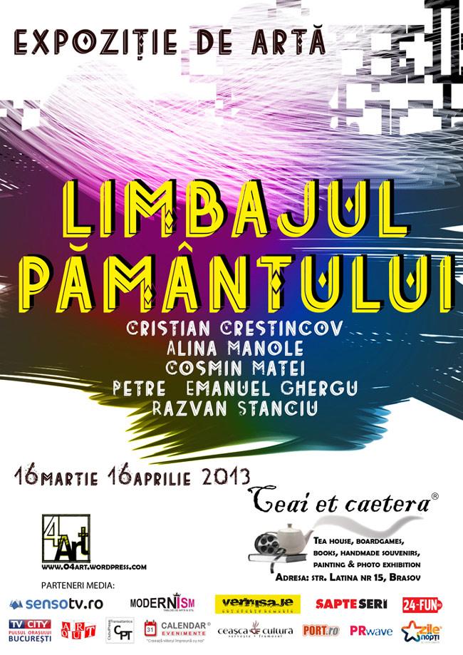 """Grupul 4ART, """"Limbajul pământului"""" @ Ceainaria Ceai et caetera, Brașov"""
