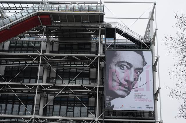 Dali non-stop for four days @ Centre Pompidou