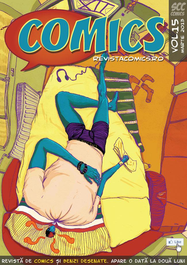 Revista COMICS nr.15 (martie 2013)