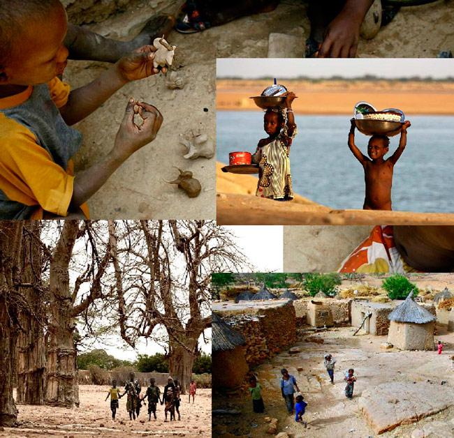 """Expoziția """"Copiii din Mali"""" @ Muzeul de Artă Timişoara"""