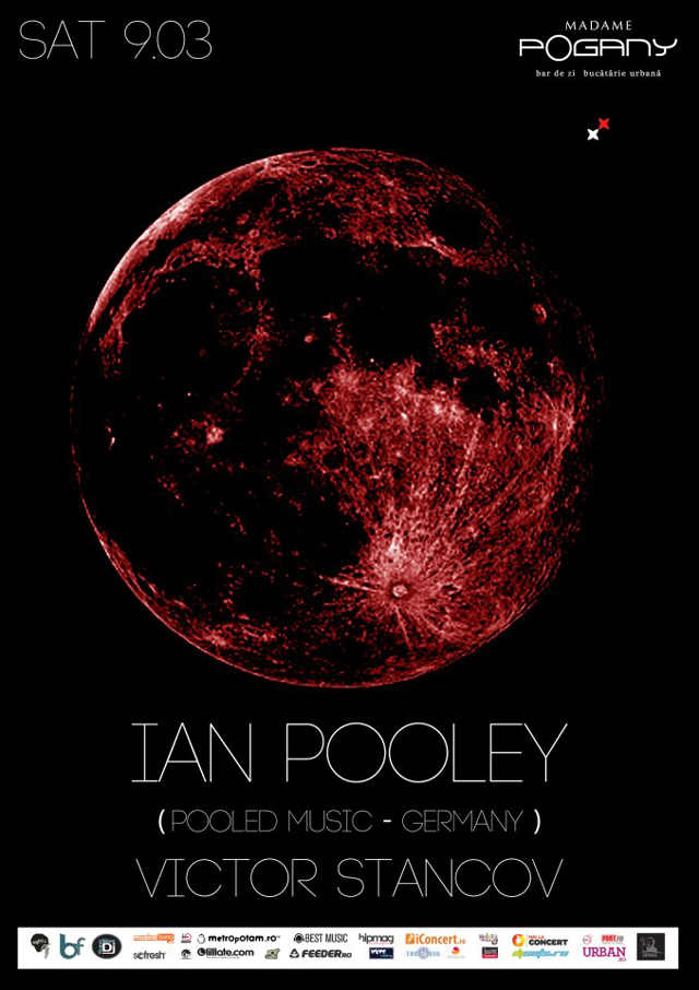 Dj international de top, Ian Pooley @ Madame Pogany