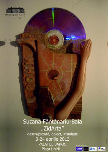 """Suzana Fântânariu-Baia """"ZidArta"""" @ Muzeul de Artă Timișoara"""