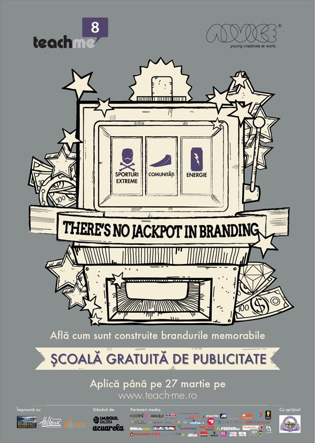 Teach Me 8, singura şcoală gratuită de publicitate, pune la bătaie 27 de locuri pentru studenţii pasionaţi de advertising @ Asociația Advice