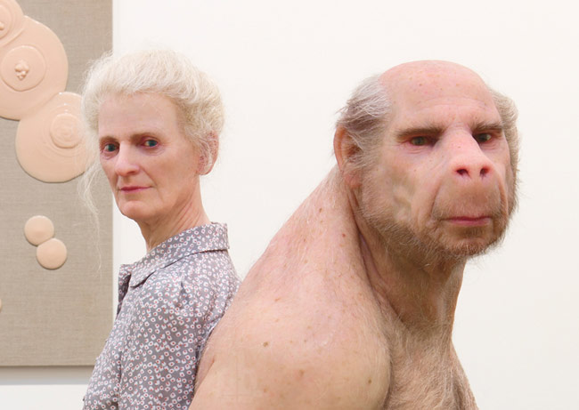 The carrier by Patricia Piccinini