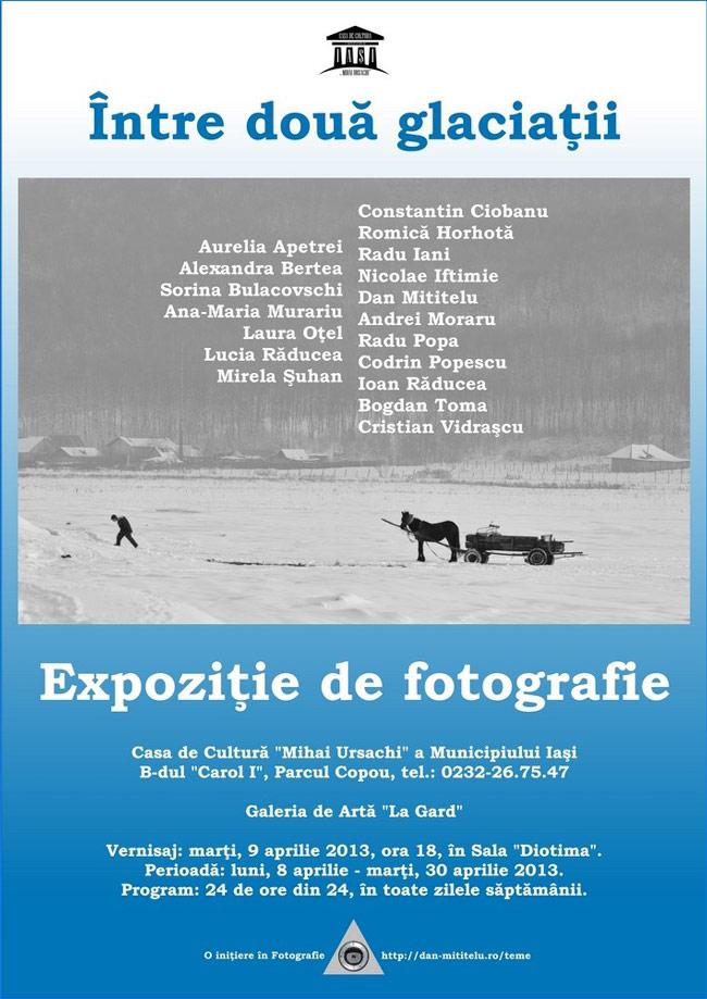 """Expoziții de fotografie @ Casa de Cultură """"Mihai Ursachi"""" a Municipiului Iaşi"""