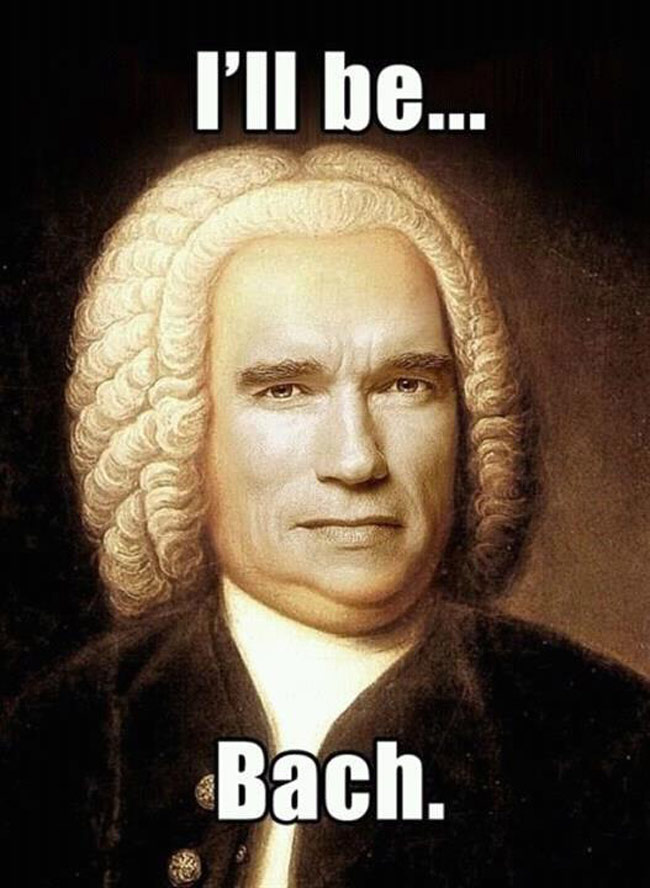 I'll be Bach