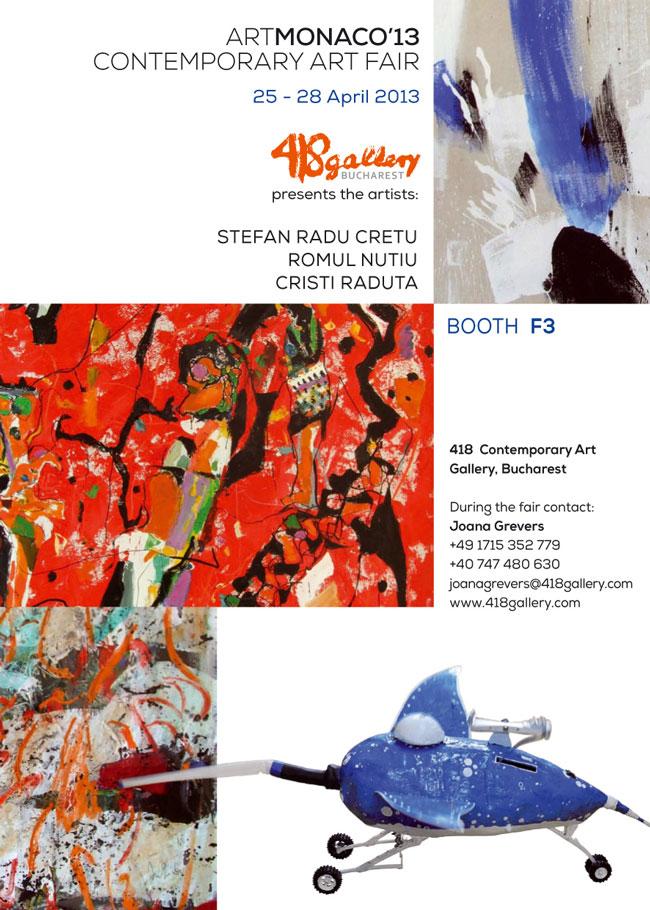 418 Contemporary Art Gallery la Art Monaco 2013