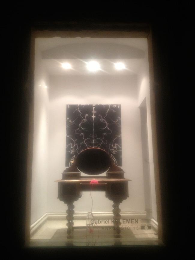 """Gabriel Kelemen """"ANAGOGIC 13"""" @ galeria """"geam MAT"""" a Muzeului de Artă din Timișoara, imagini"""