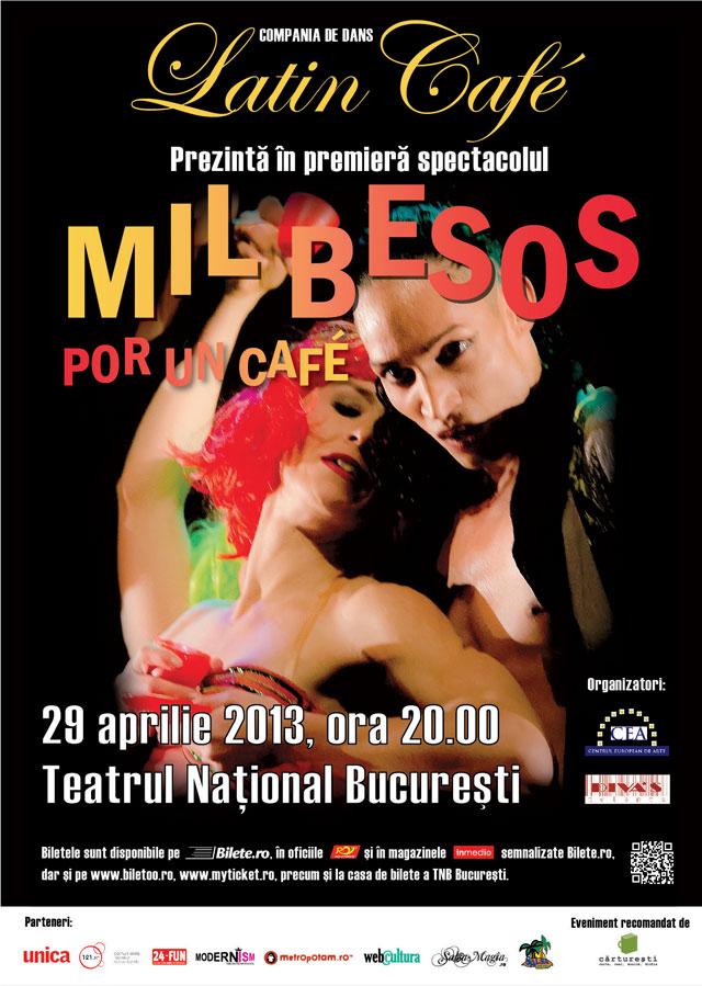 Compania italiană de dans LATIN CAFÉ în premieră în România @ TNB București
