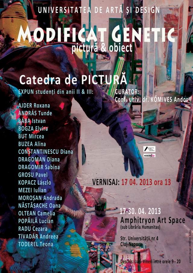 MODIFICAT GENETIC, catedra de pictură, Universitatea de Artă și Design Cluj–Napoca