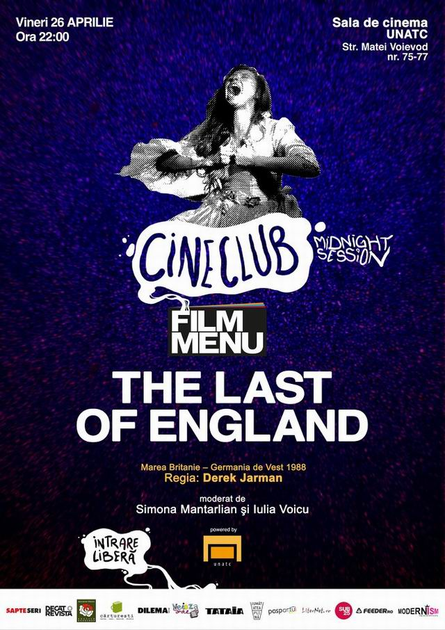 The last of England –  Cineclubului Film Menu