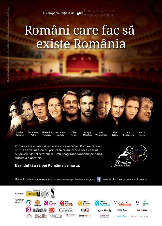 Români care fac să existe România