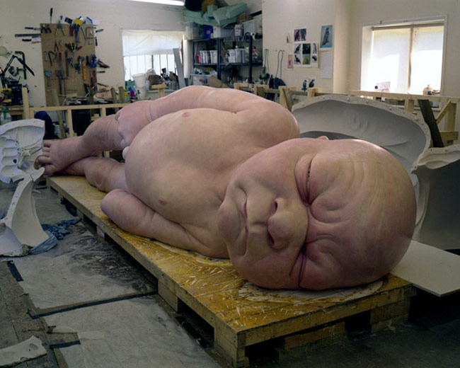 Ron Mueck at Fondation Cartier