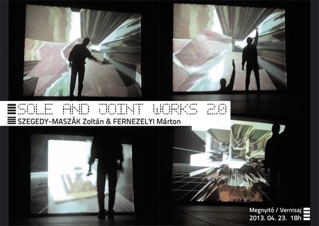 Expoziţia lui Zoltán Szegedy-Maszák şi Márton Fernezelyi, OPERE SOLITARE ȘI COLECTIVE 2.0 @ MAGMA Contemporary Art Space, Sf. Gheorghe