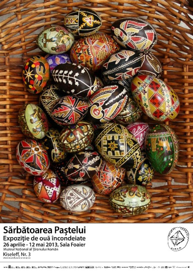 Expoziție de ouă încondeiate @ Muzeul Național al Țăranului Român