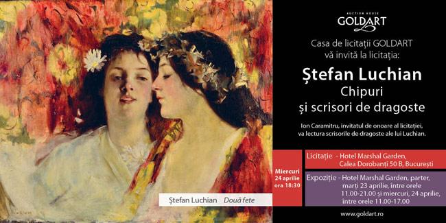 Un important lot de manuscrise ale lui Ștefan Luchian, în licitația Goldart de miercuri, 24 aprilie