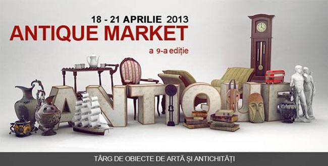 Târgul Antique Market, între 18 și 21 aprilie la ROMEXPO
