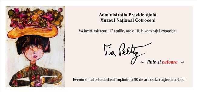 Expoziţie de pictură Tia Peltz la Muzeul Naţional Cotroceni