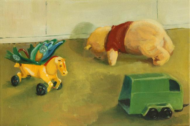 "Oana Damian, ""Just Kidding"" @ Galeria Visual Kontakt, Oradea"