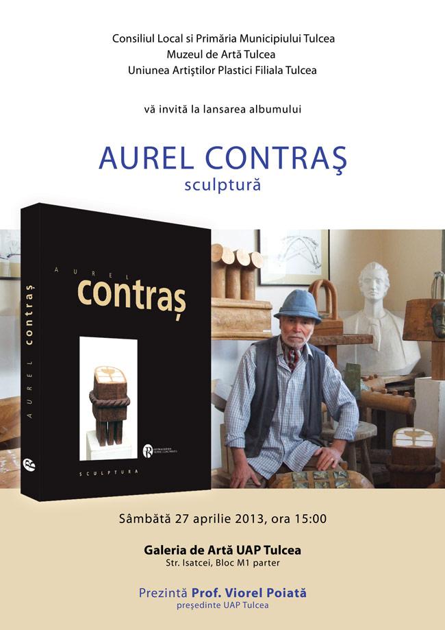 Lansare album Aurel Contraș @ Galeriile UAP Tulcea