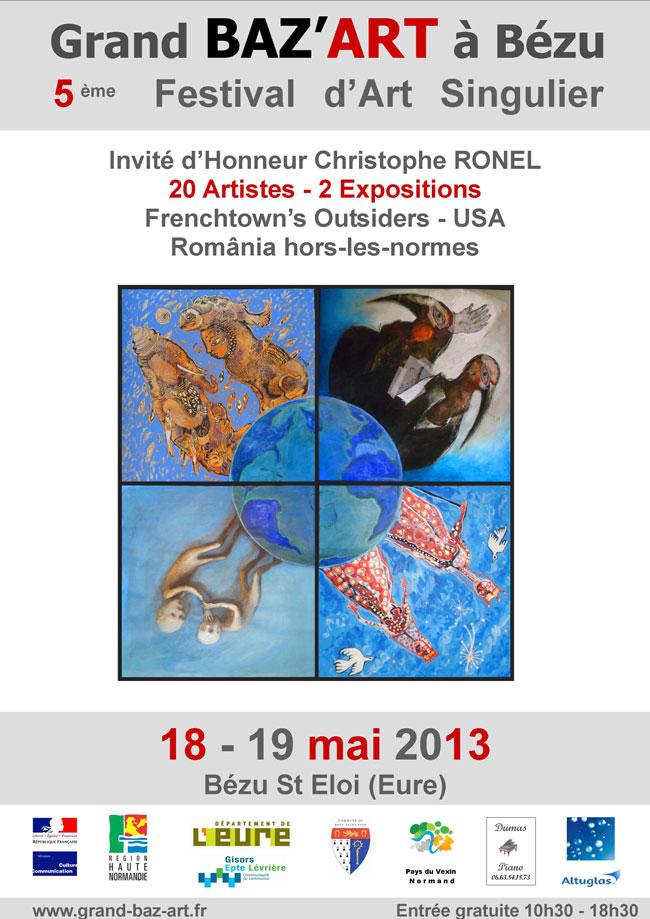 Nouă pictori români expun în Franța