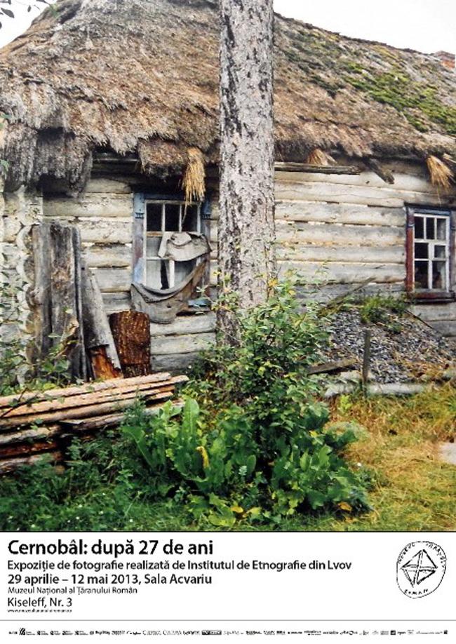 Cernobâl: după 27 de ani – expoziție de fotografie @ Muzeul Național al Țăranului Român