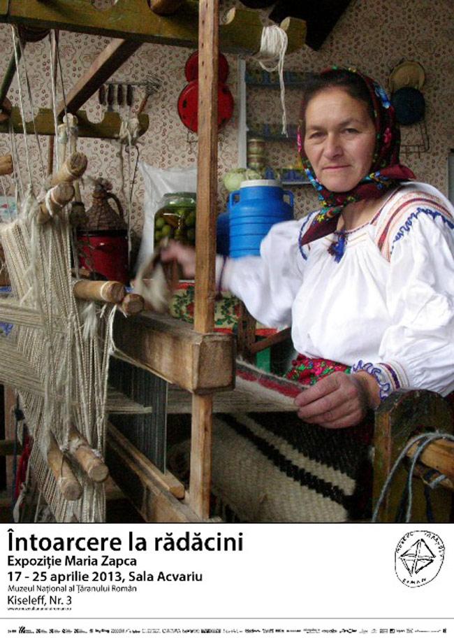 """Expoziţie Maria Zapca """"Întoarcere la rădăcini"""" @ Muzeul Naţional al Ţăranului Român"""