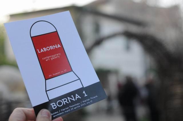 S-a lansat Galeria LABORNA, București cu evenimentul Borna 1