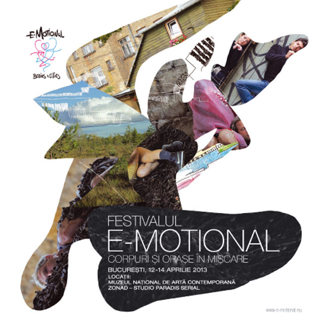 Prezentare program de finanţare al Uniunii Europene, Europa Creativă și lansare Festival E-Motional: corpuri & oraşe în mişcare