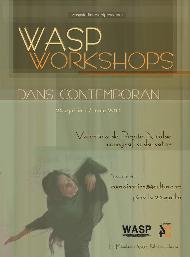Program de workshop-uri la WASP