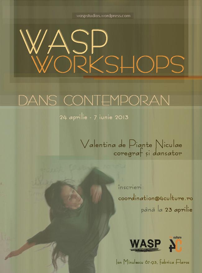 Program de workshop-uri la WASP